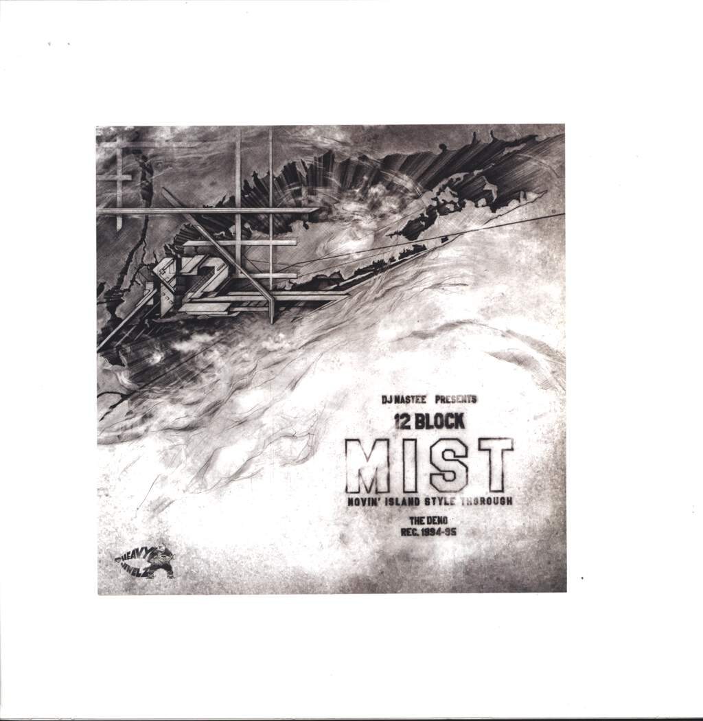 "The 12 Block: M.I.S.T. - Movin Island Style Thorough, 12"" Maxi Single (Vinyl)"
