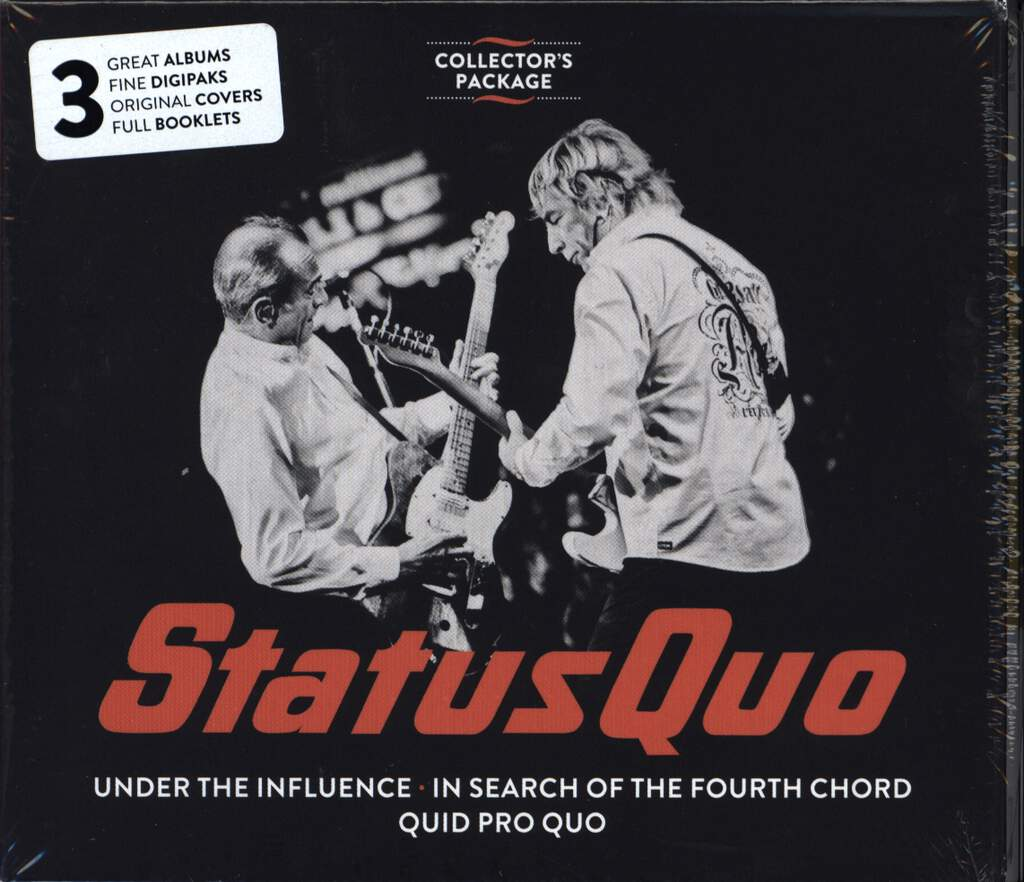 Status Quo: Collector's Package, 3×CD