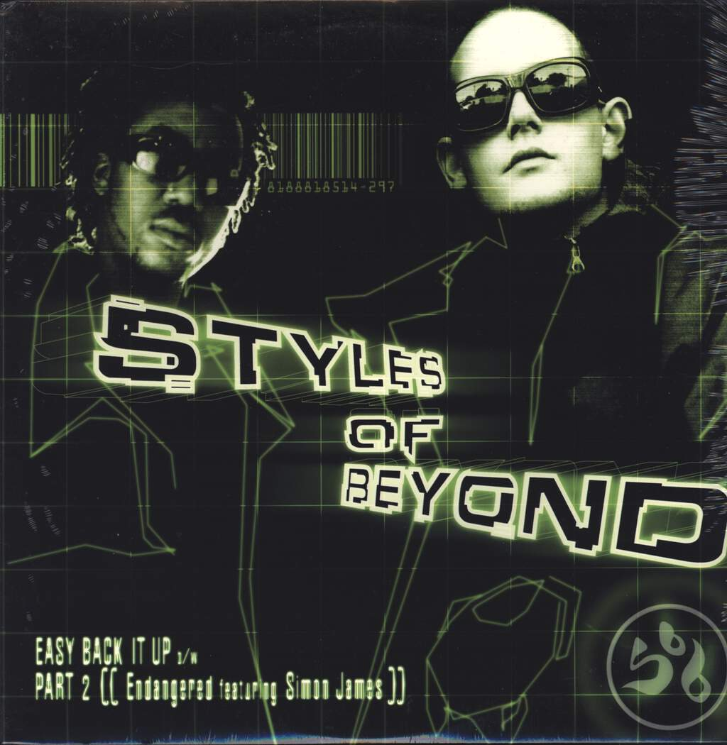 "Styles Of Beyond: Easy Back It Up / Part 2, 12"" Maxi Single (Vinyl)"
