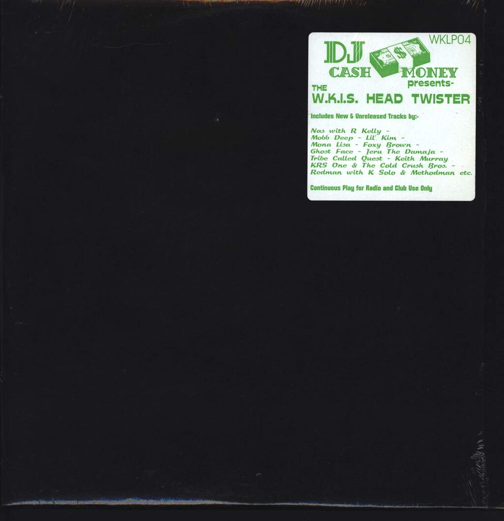 DJ Cash Money: The W.K.I.S. Head Twister, LP (Vinyl)