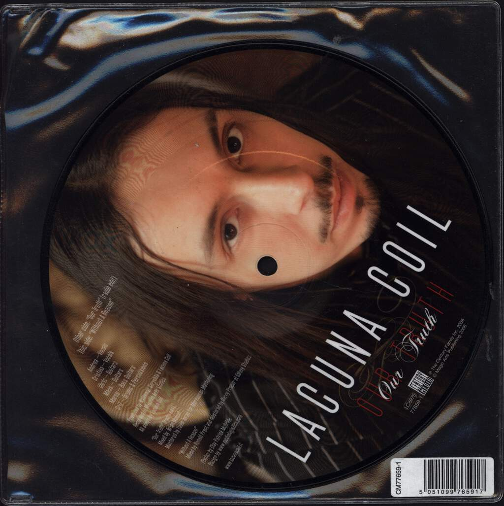 "Lacuna Coil: Our Truth, 7"" Single (Vinyl)"