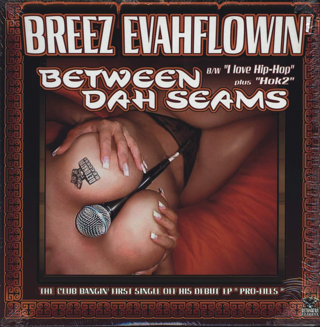 "Breez Evahflowin: Between Dah Seams, 12"" Maxi Single (Vinyl)"