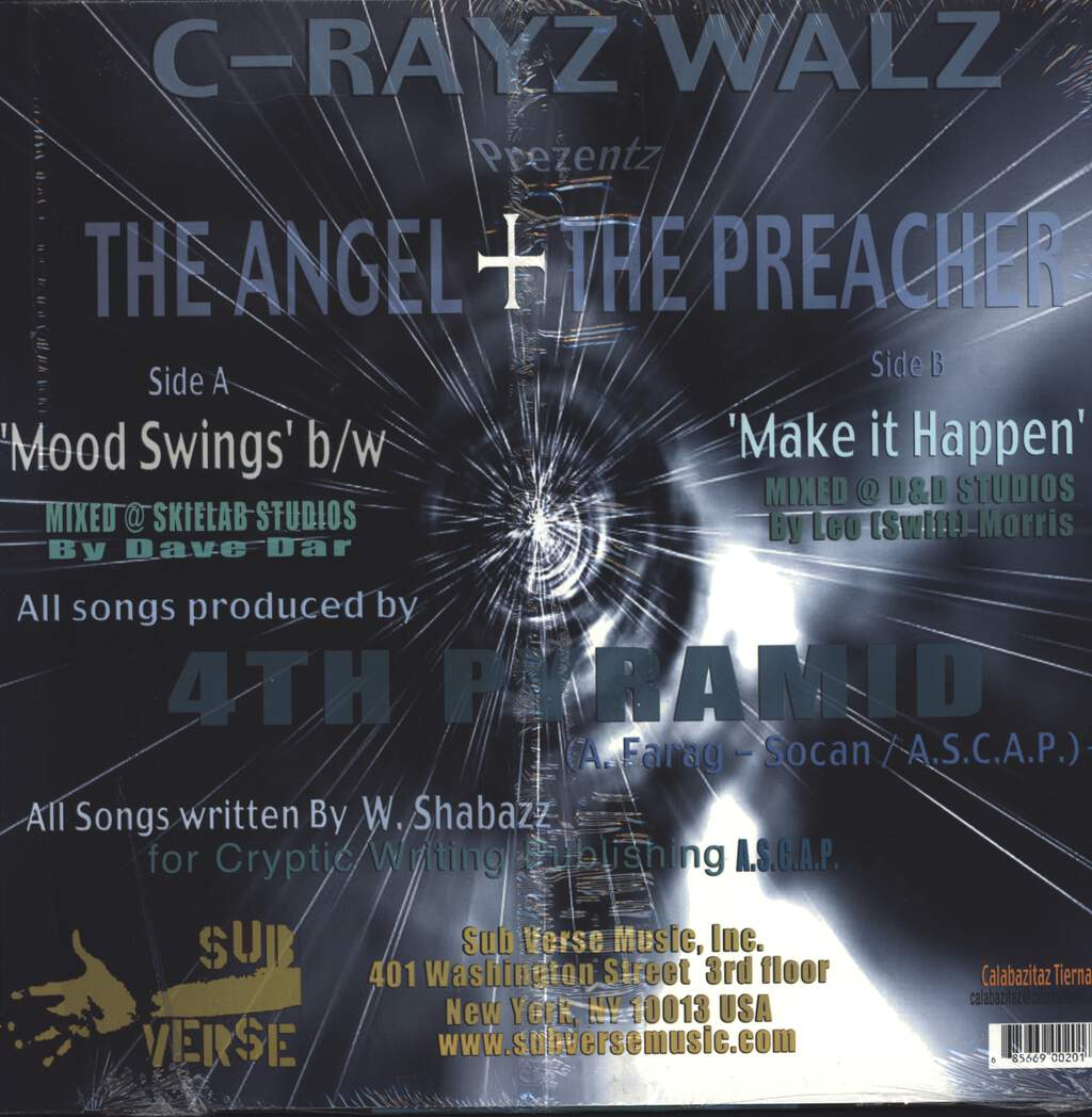 "C-Rayz Walz: Mood Swing / Make It Happen, 12"" Maxi Single (Vinyl)"