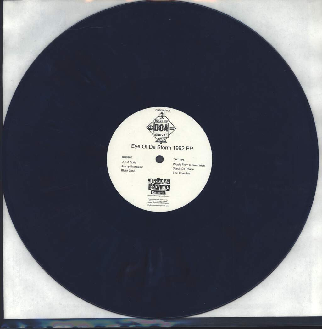 "Doap On Arrival: Eye Of Da Storm 1992 EP, 12"" Maxi Single (Vinyl)"
