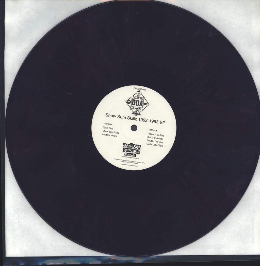 "Doap On Arrival: Show Sum Skillz 1992 - 1993 EP, 12"" Maxi Single (Vinyl)"