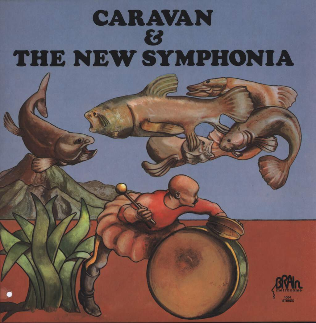 Caravan: Caravan & The New Symphonia, LP (Vinyl)