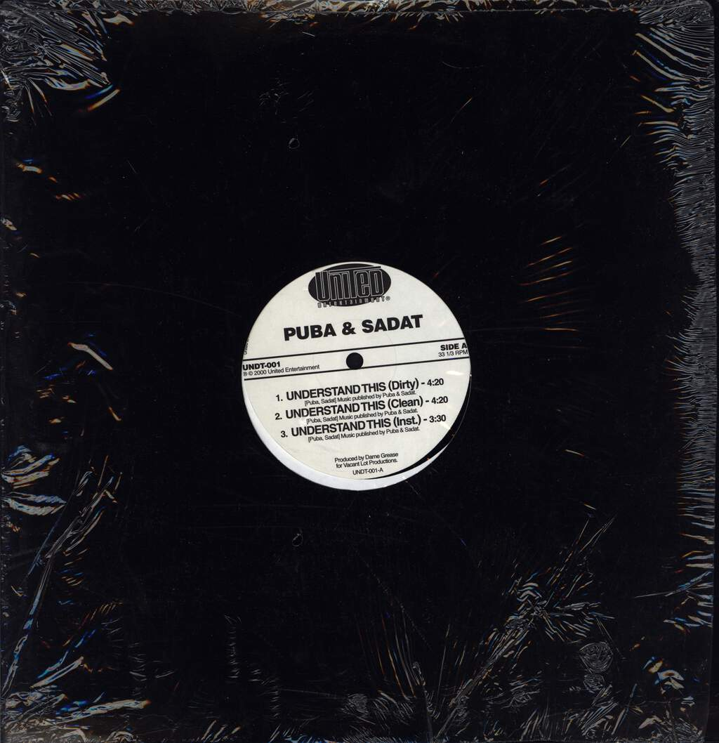 "Grand Puba: Understand This / Nigga Haters, 12"" Maxi Single (Vinyl)"