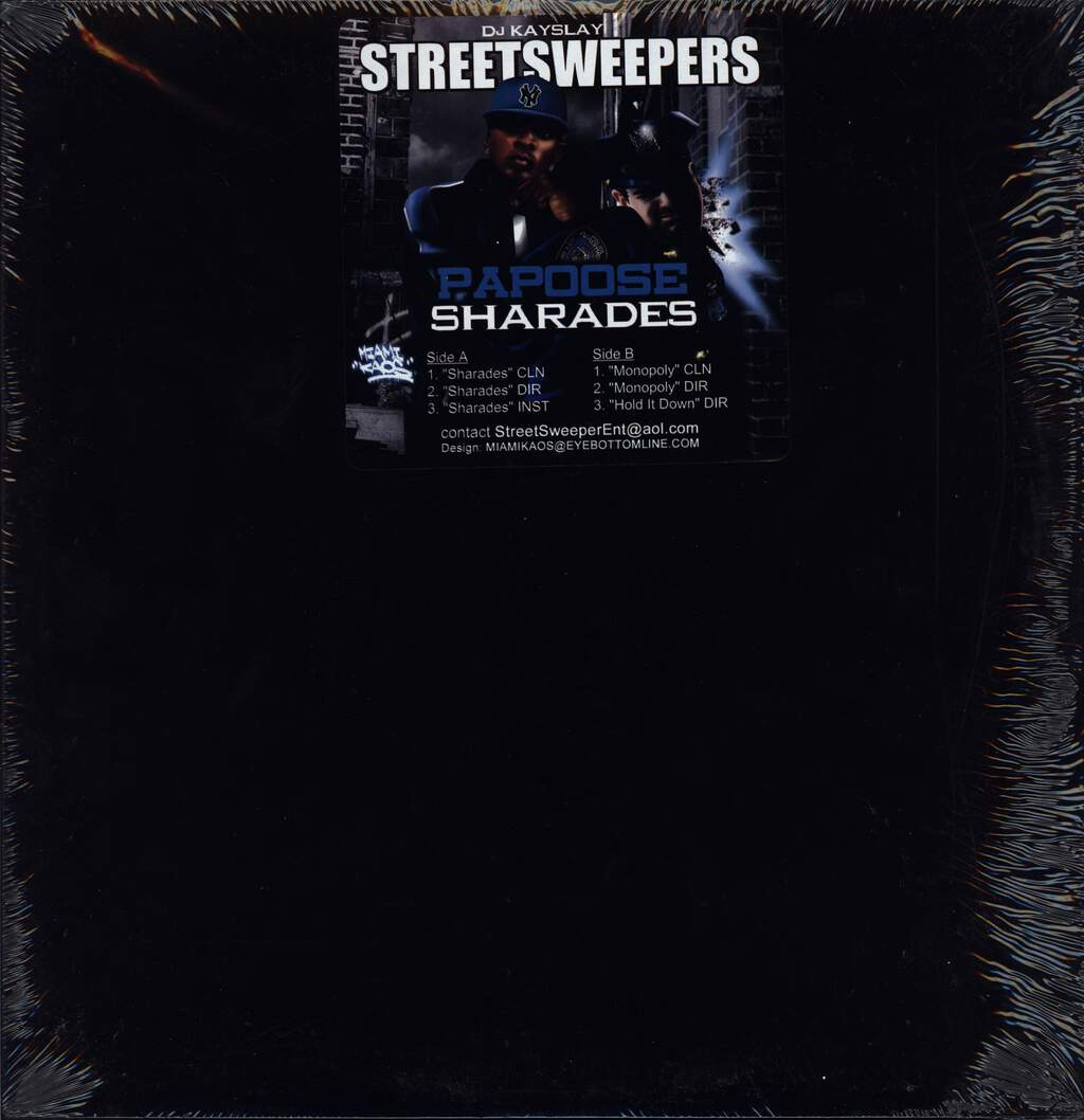 "Papoose: Sharades, 12"" Maxi Single (Vinyl)"