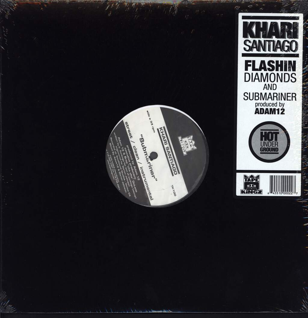 "Khari: Submariner / Flashin' Diamonds, 12"" Maxi Single (Vinyl)"