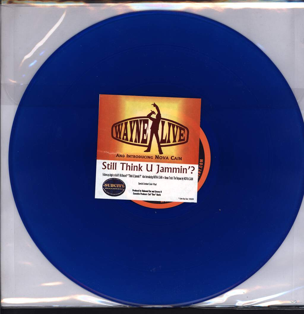"Wayne Live: Still Think U Jammin'?, 12"" Maxi Single (Vinyl)"