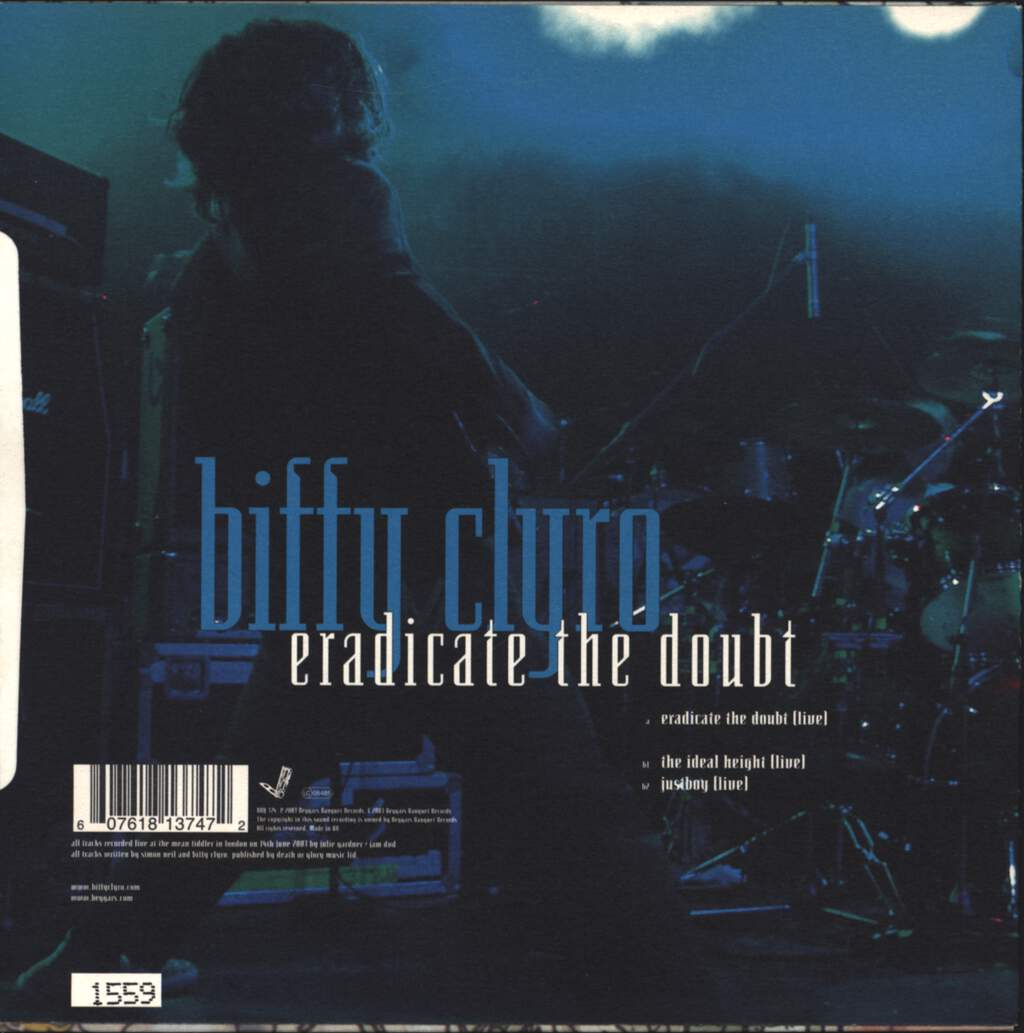 "Biffy Clyro: Eradicate The Doubt, 7"" Single (Vinyl)"