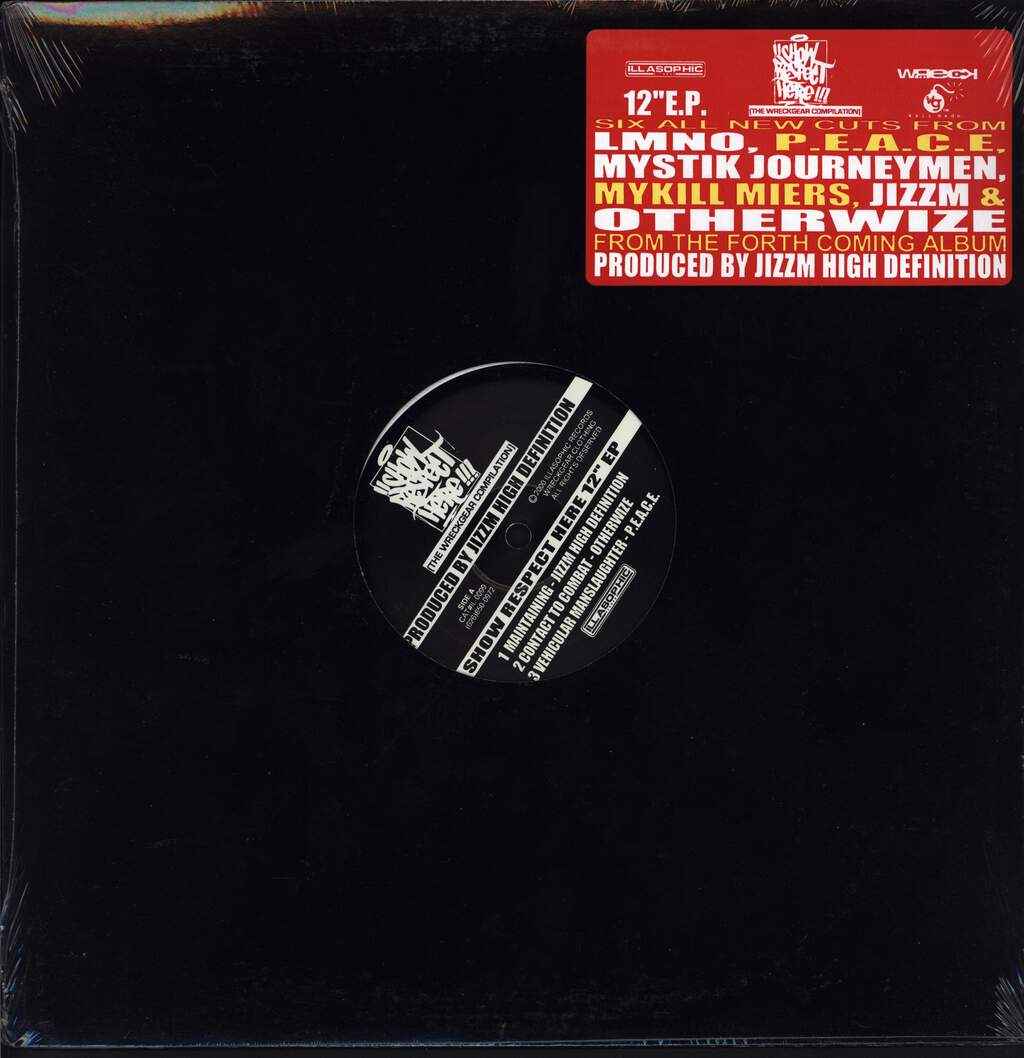"Various: Show Respect Here EP, 12"" Maxi Single (Vinyl)"