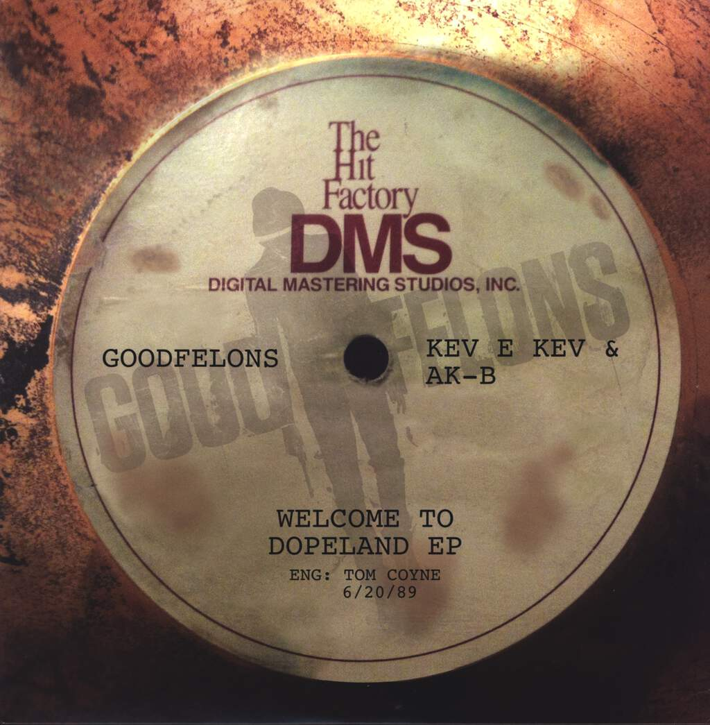 "Kev E Kev: Welcome To Dopeland EP, 12"" Maxi Single (Vinyl)"