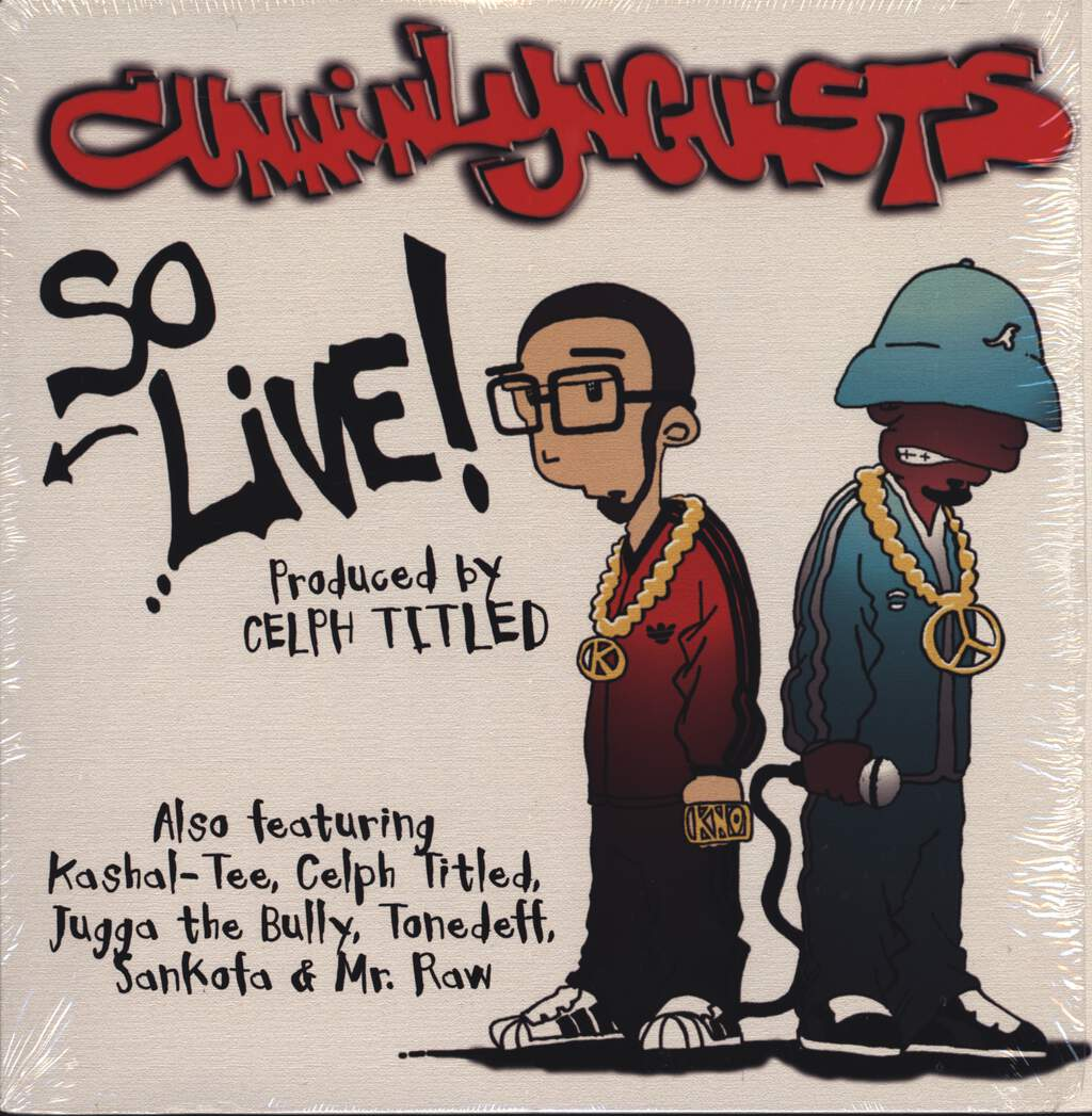 "CunninLynguists: So Live!, 12"" Maxi Single (Vinyl)"