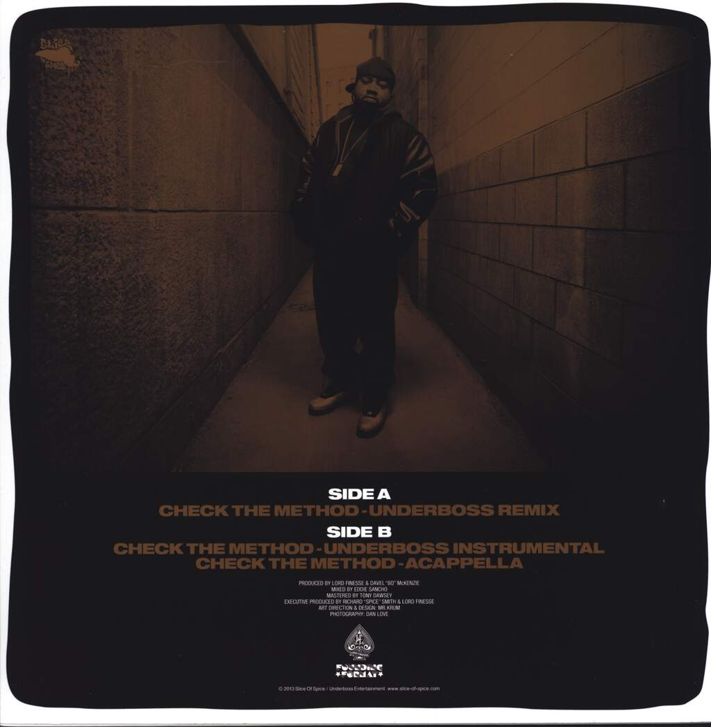 "Lord Finesse: Check The Method (Remix), 12"" Maxi Single (Vinyl)"