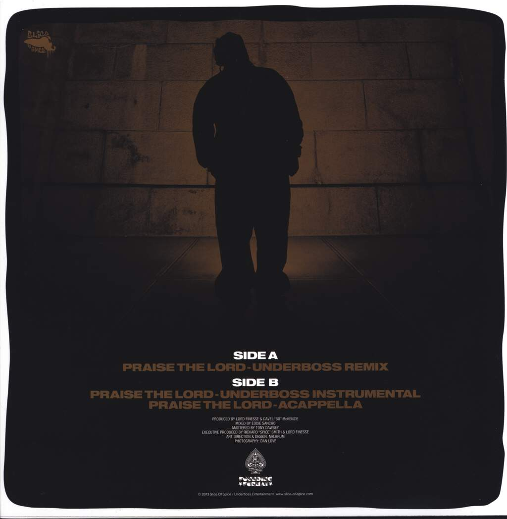 "Lord Finesse: Praise The Lord (Remix), 12"" Maxi Single (Vinyl)"
