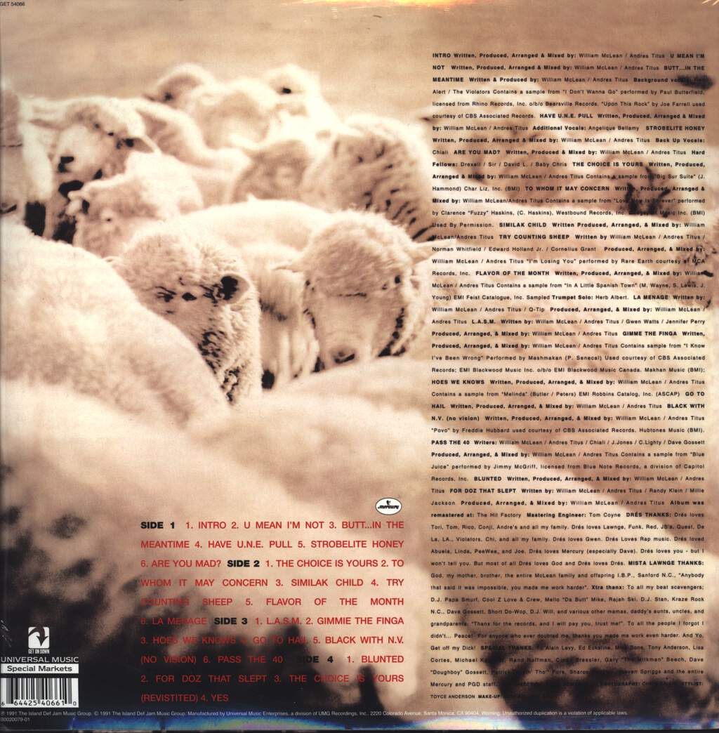 Black Sheep: A Wolf In Sheep's Clothing, LP (Vinyl)