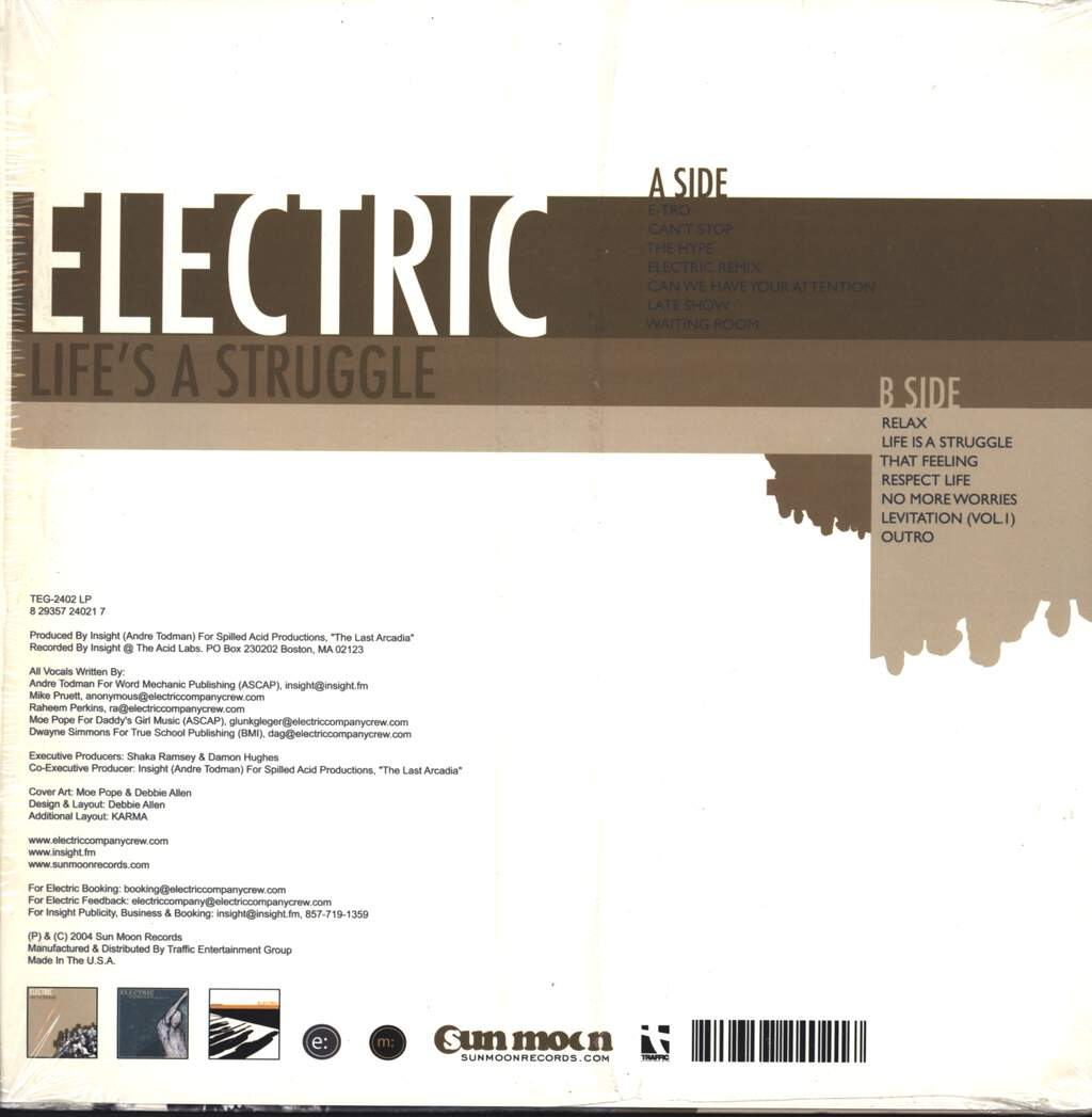 Electric Company: Life's A Struggle, LP (Vinyl)