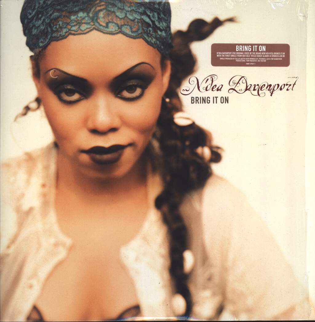 "N'Dea Davenport: Bring It On, 12"" Maxi Single (Vinyl)"