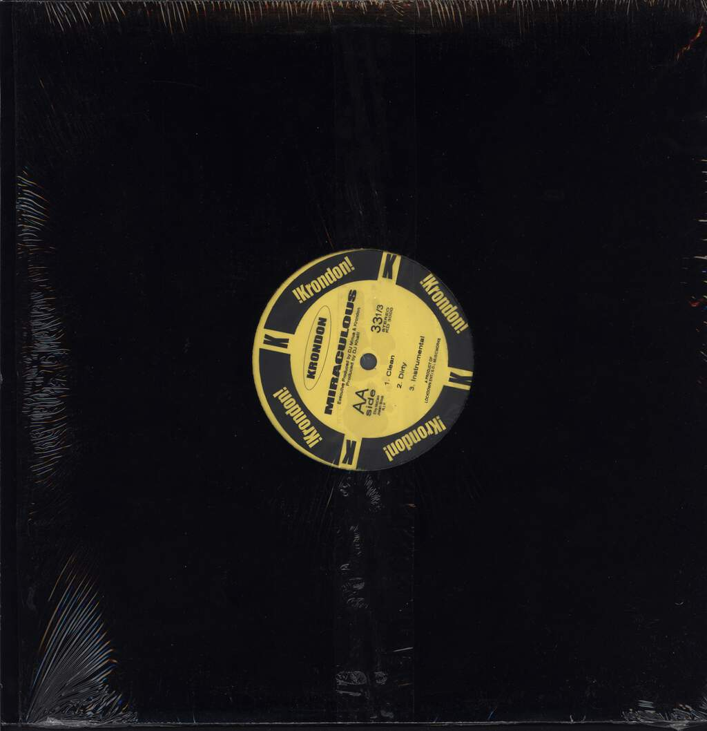 "Krondon: Black Gold / Miraculous, 12"" Maxi Single (Vinyl)"