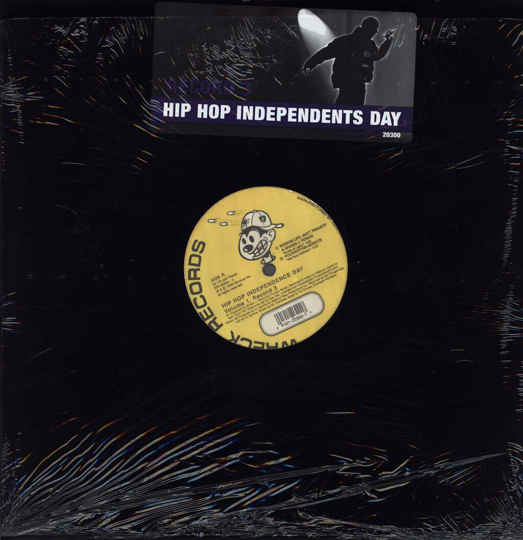 "Various: Hip Hop Independents Day: Volume 1 (Record 3), 12"" Maxi Single (Vinyl)"