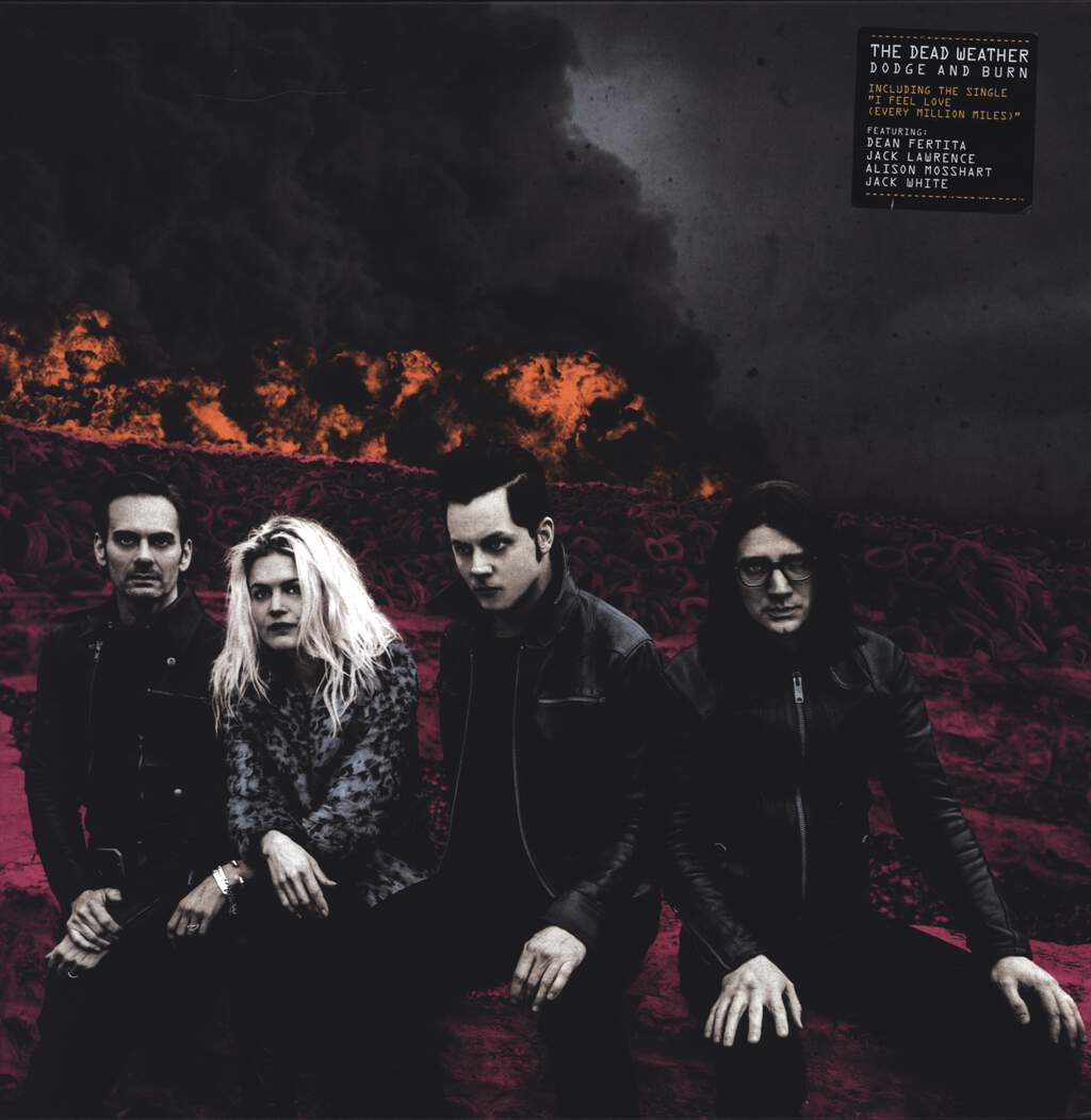The Dead Weather: Dodge And Burn, LP (Vinyl)
