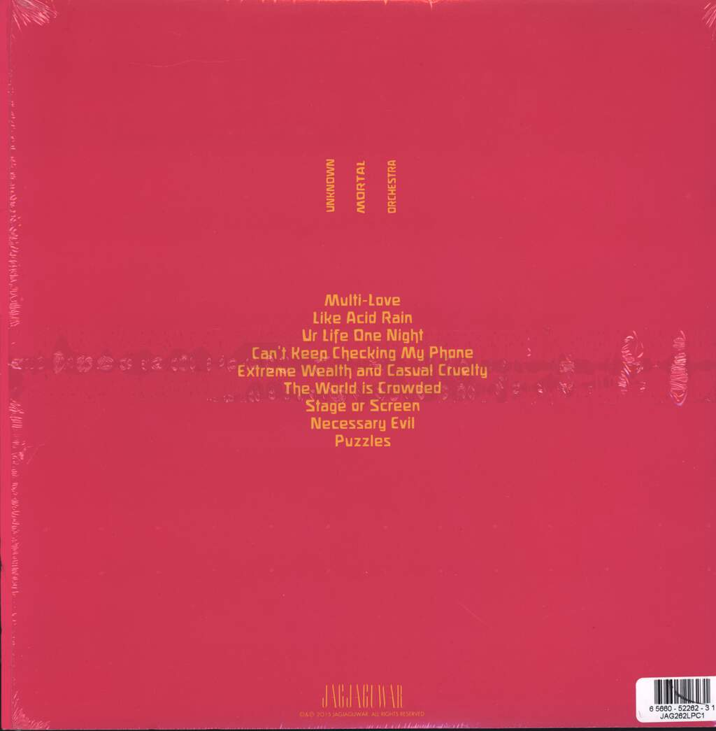 Unknown Mortal Orchestra: Multi-Love, LP (Vinyl)