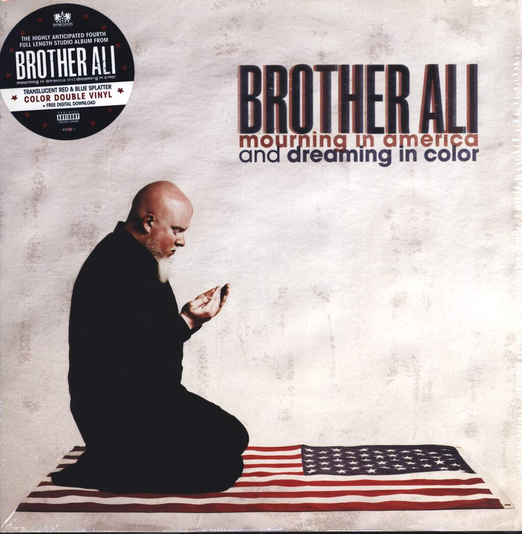 Brother Ali: Mourning In America And Dreaming In Color, LP (Vinyl)