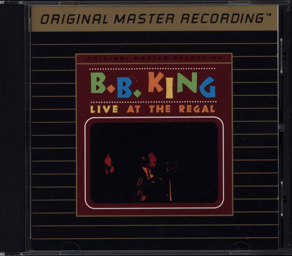 B.B. King: Live At The Regal, CD