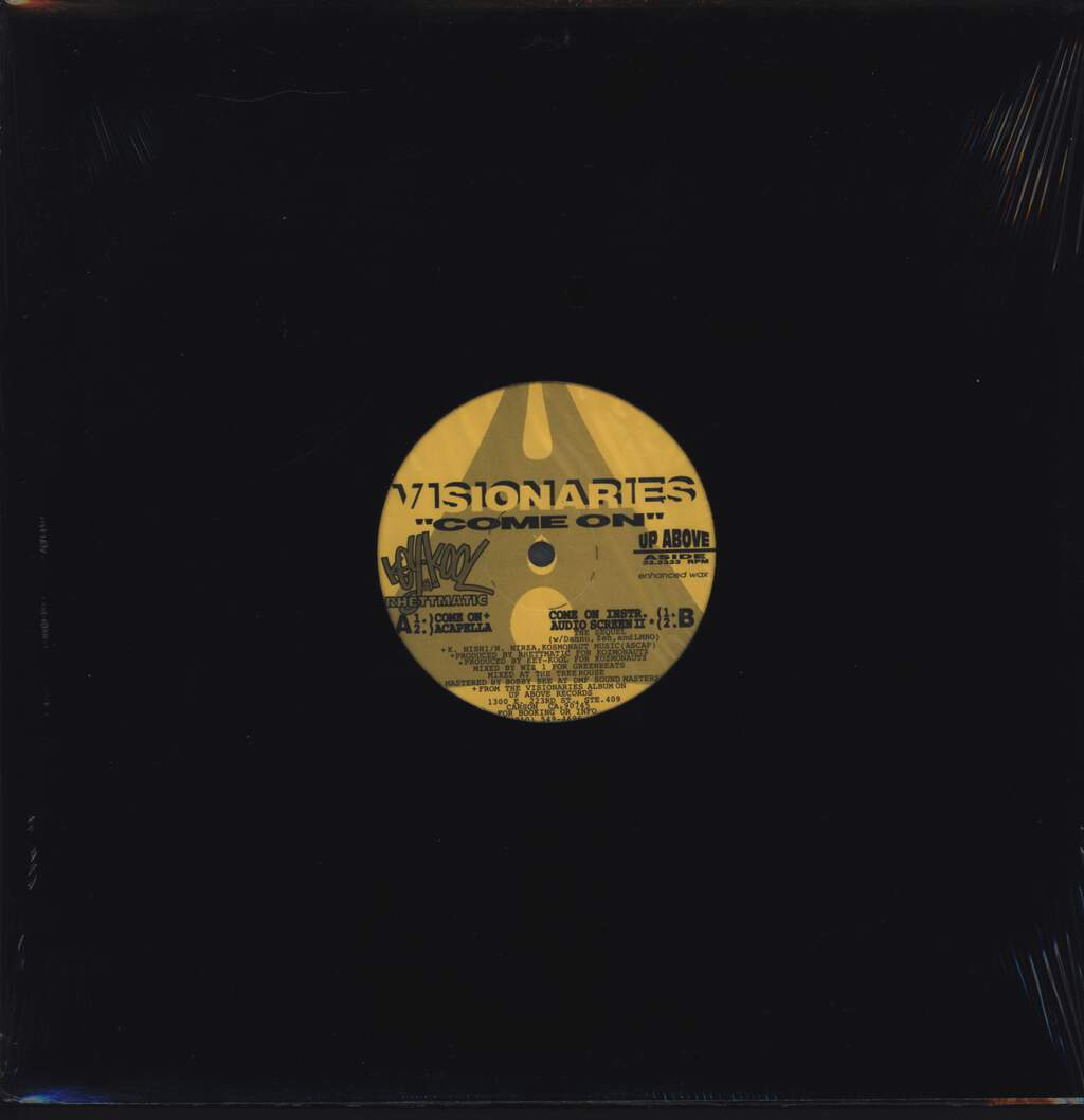 "Visionaries: Come On, 12"" Maxi Single (Vinyl)"