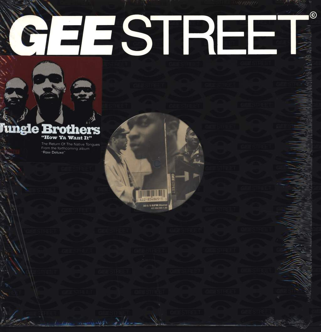 "Jungle Brothers: How Ya Want It We Got It, 12"" Maxi Single (Vinyl)"