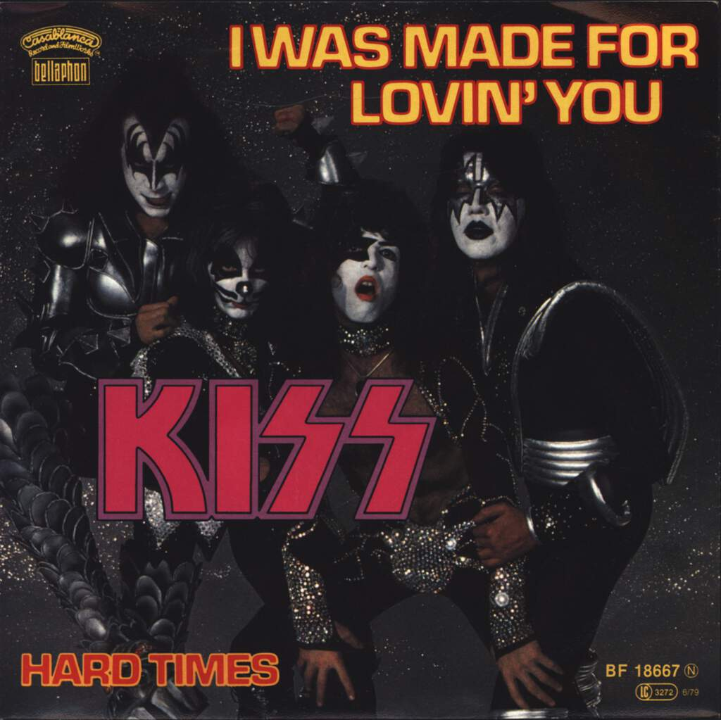 "Kiss: I Was Made For Lovin' You, 7"" Single (Vinyl)"