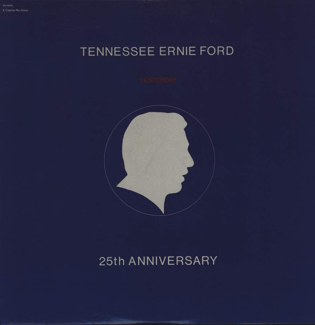 "Tennessee Ernie Ford: 25th Anniversary ""Yesterday"", LP (Vinyl)"
