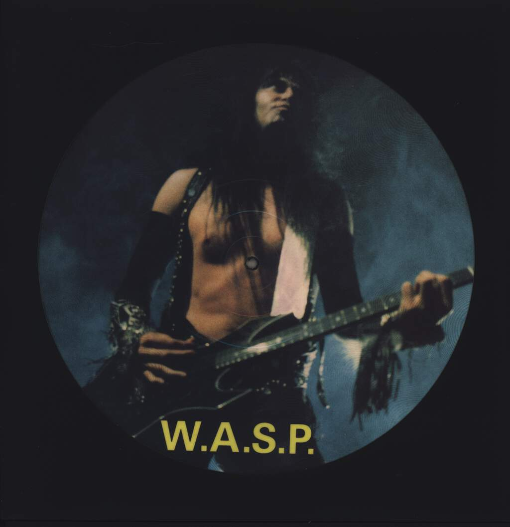 "W.A.S.P.: Interview, 12"" Maxi Single (Vinyl)"