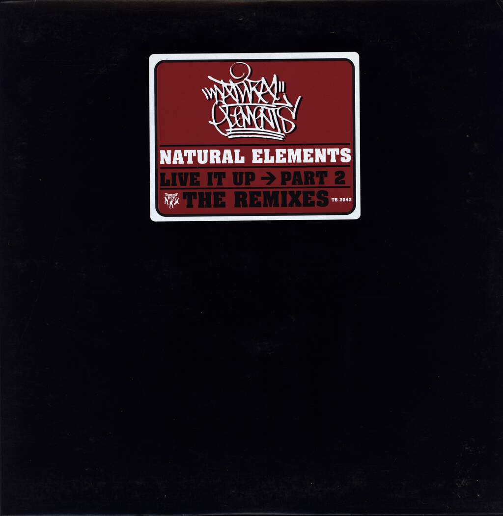 "Natural Elements: Live It Up Part 2 The Remixes, 12"" Maxi Single (Vinyl)"