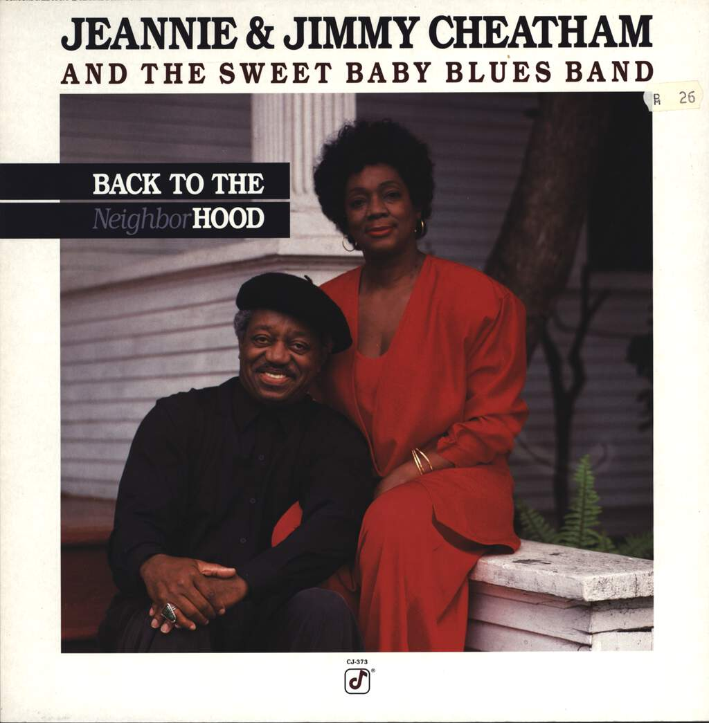 Jeannie & Jimmy Cheatham: Back To The Neighborhood, LP (Vinyl)