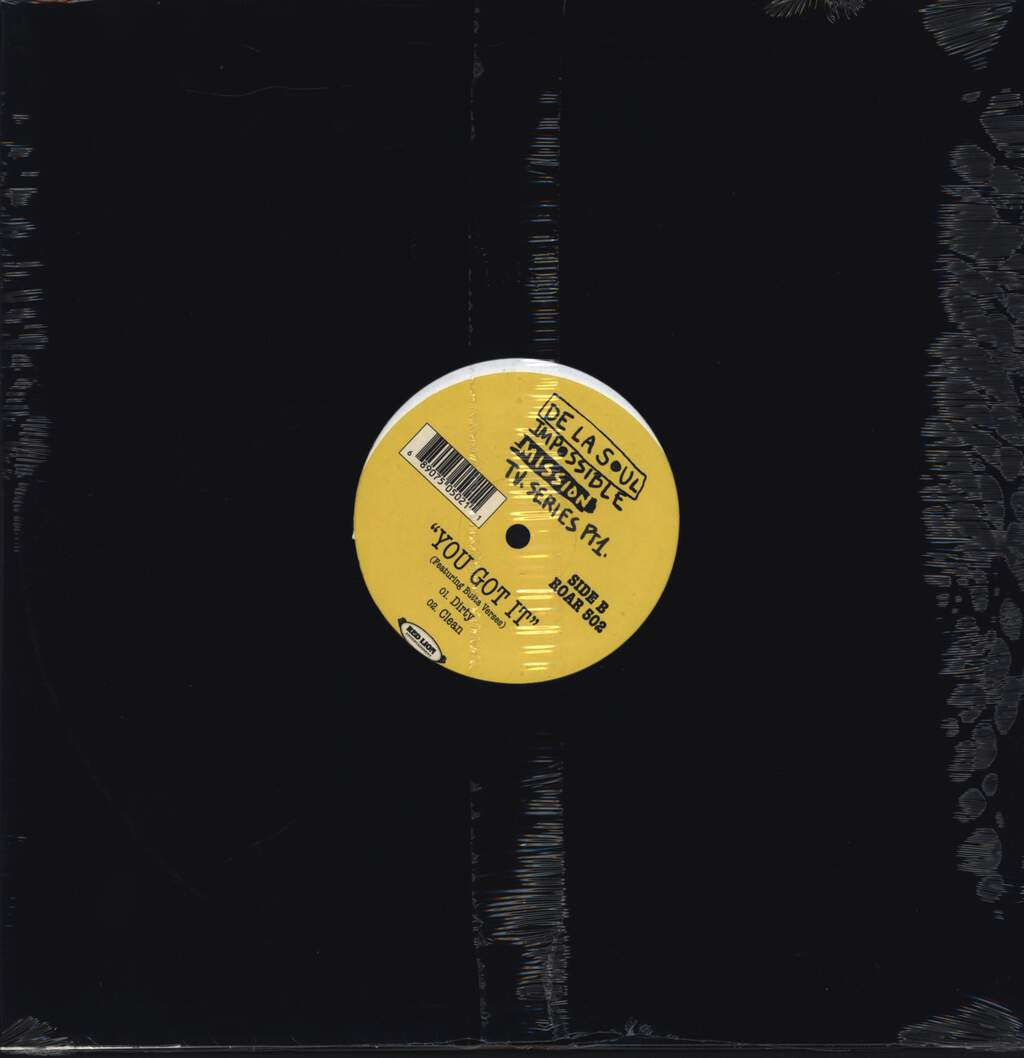 "De La Soul: Respect / You Got It, 12"" Maxi Single (Vinyl)"