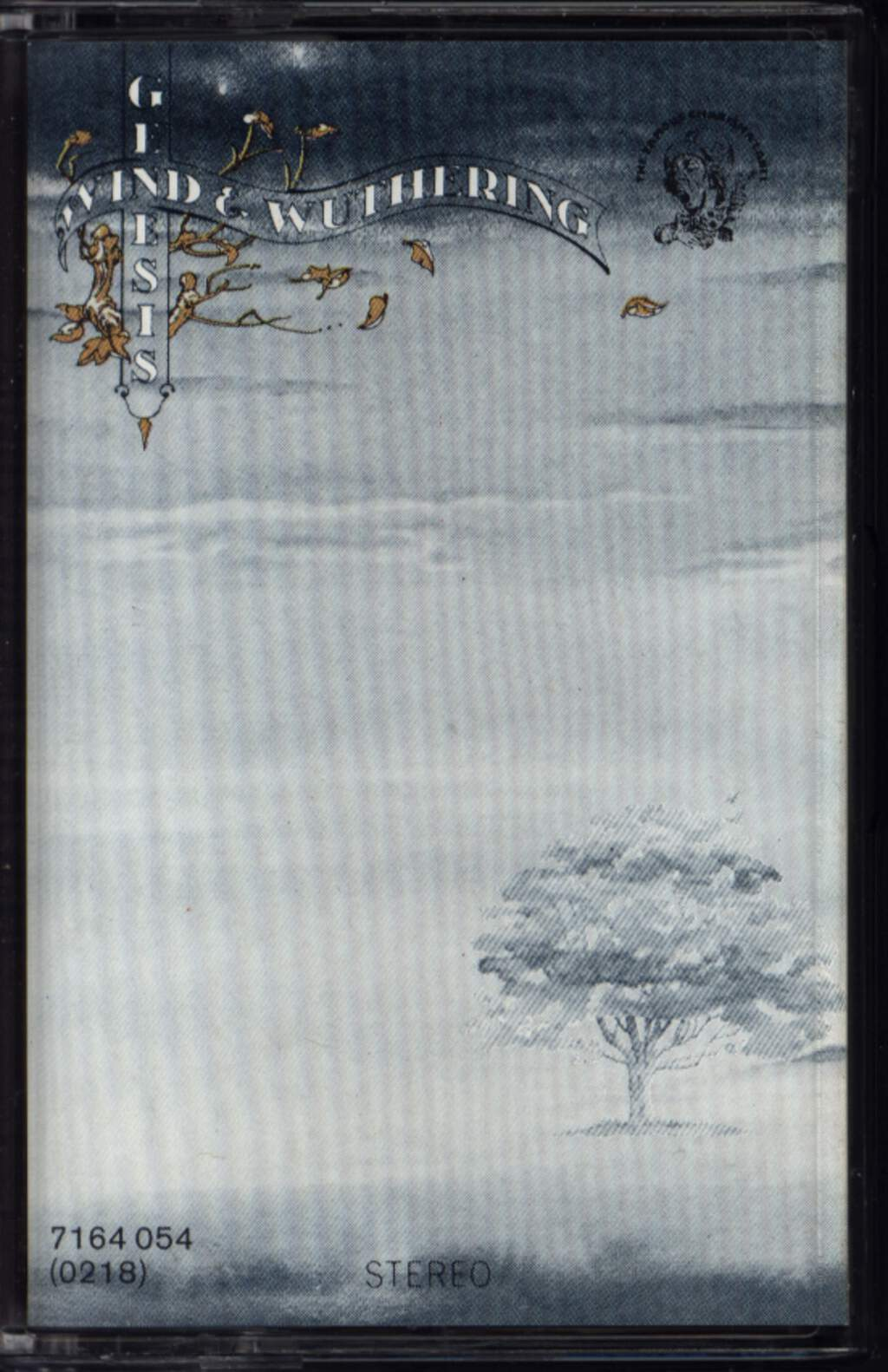 Genesis: Wind & Wuthering, Compact Cassette