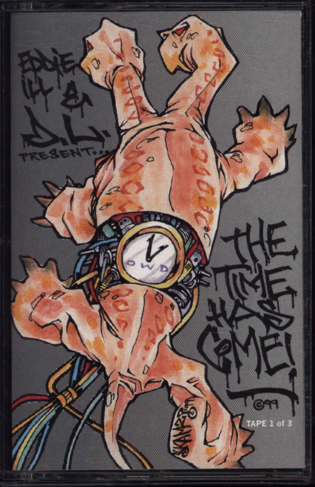 Eddie Ill And D.L.: The Time Has Come (Tape 1 Of 3), Compact Cassette