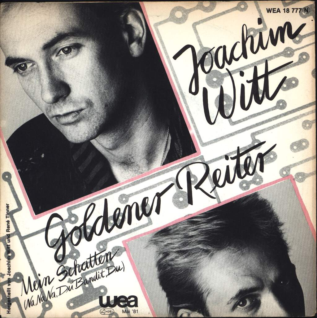 "Joachim Witt: Goldener Reiter, 7"" Single (Vinyl)"