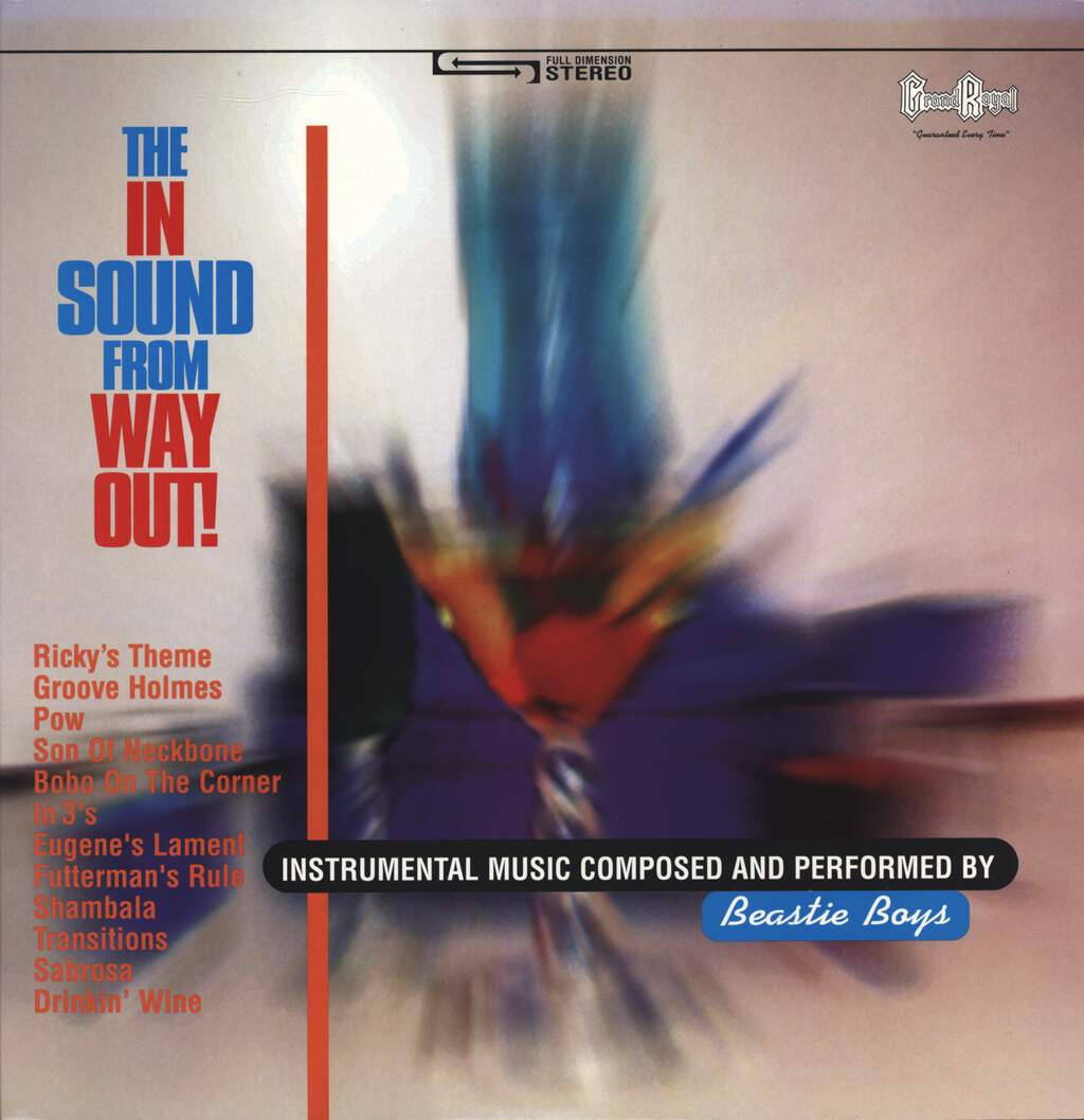 Beastie Boys: The In Sound From Way Out, LP (Vinyl)