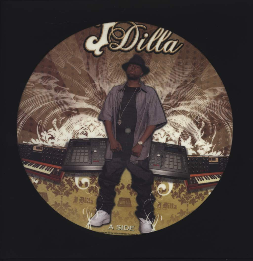 "J Dilla: The Shining EP, 12"" Maxi Single (Vinyl)"