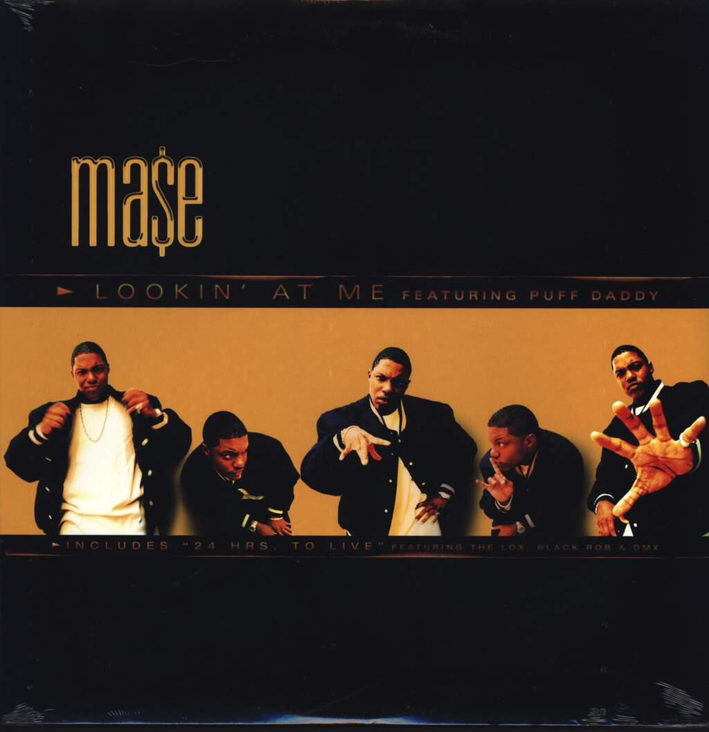 "Mase: Lookin' At Me, 12"" Maxi Single (Vinyl)"