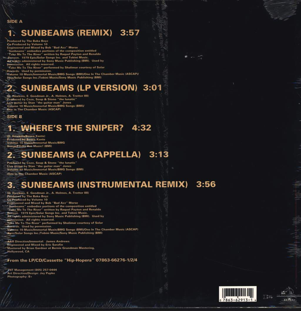 "Volume 10: Sunbeams, 12"" Maxi Single (Vinyl)"