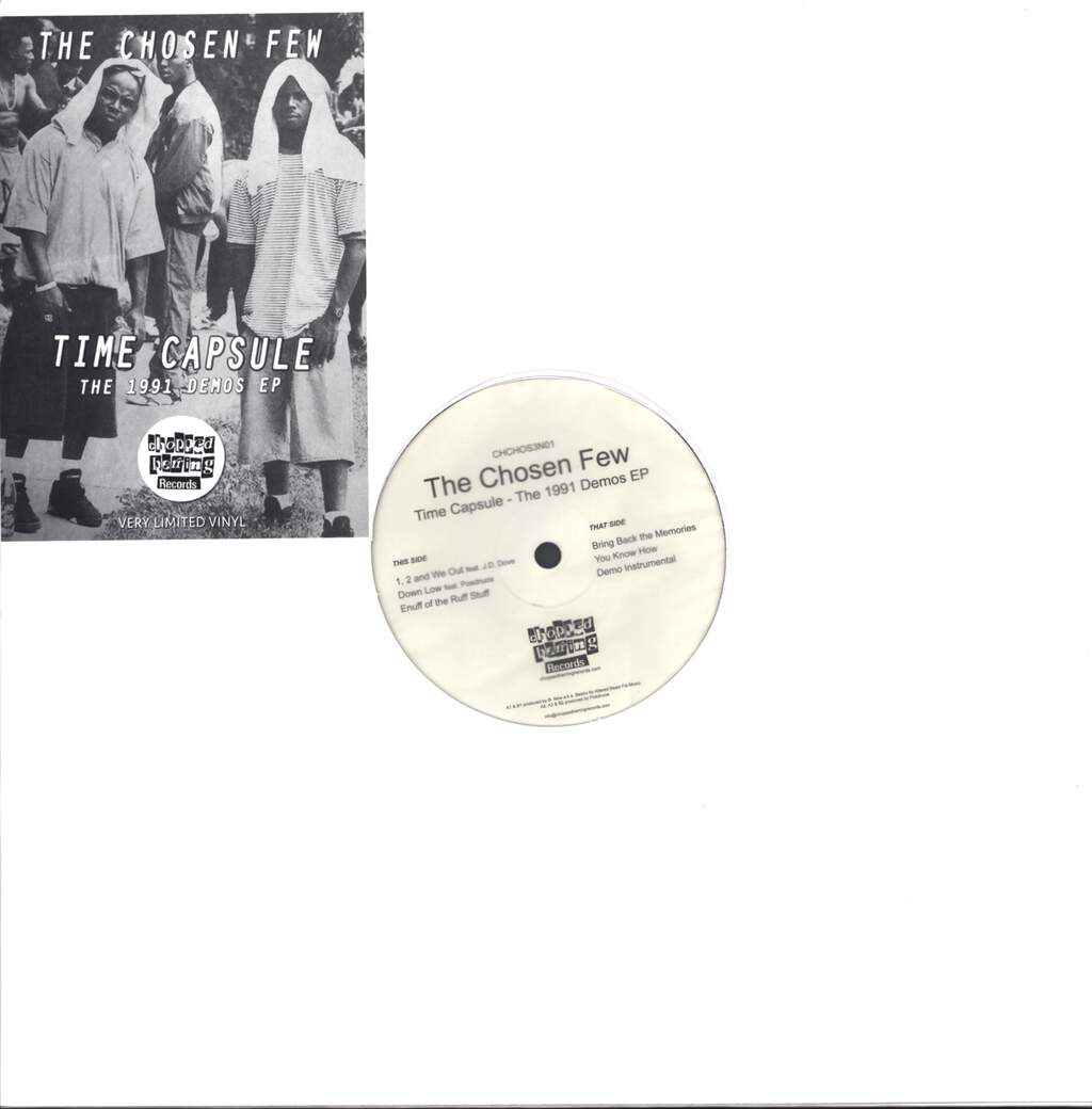 "The Chosen Few: Time Capsule - The 1991 Demos EP, 12"" Maxi Single (Vinyl)"