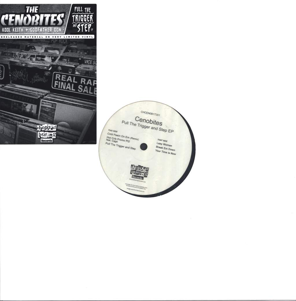 "The Cenobites: Pull The Trigger And Step EP, 12"" Maxi Single (Vinyl)"