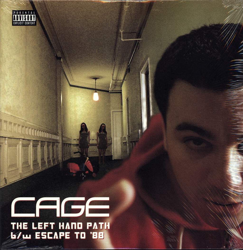 "Cage: The Left Hand Path / Escape To '88, 12"" Maxi Single (Vinyl)"