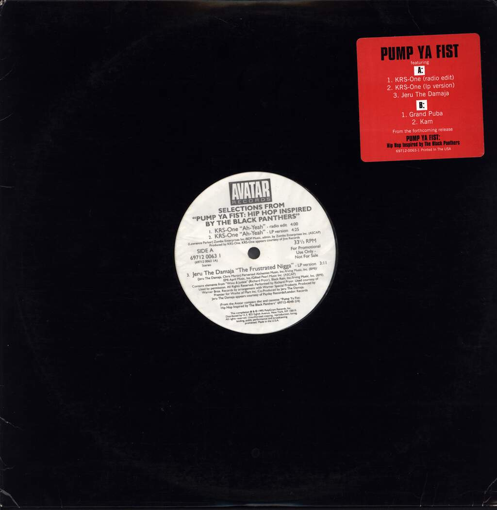 "Various: Selections From ""Pump Ya Fist"", 12"" Maxi Single (Vinyl)"