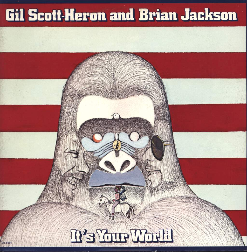 Gil Scott-Heron & Brian Jackson: It's Your World, LP (Vinyl)
