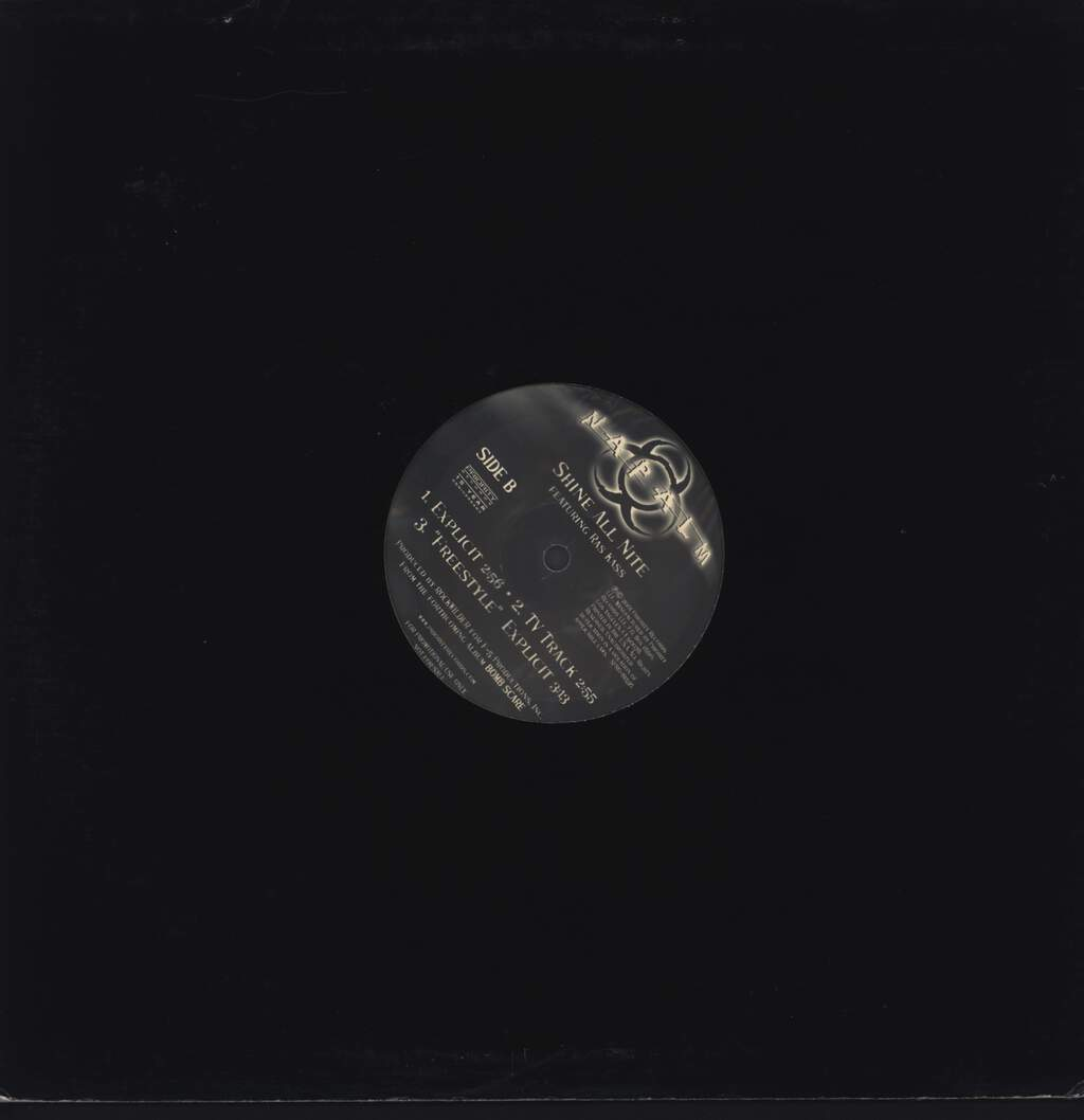 "Napalm: Shine All Nite, 12"" Maxi Single (Vinyl)"